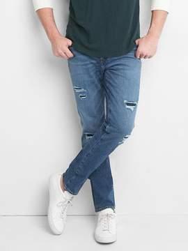 Gap Destructed skinny fit jeans (bi-stretch)