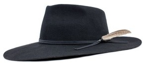 Brixton Men's Topeka Fedora - Black