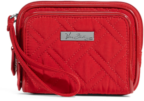 Vera Bradley Red On-the-Square Wristlet - RED - STYLE