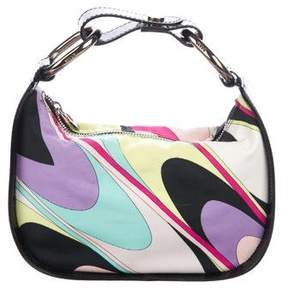 Emilio Pucci Patent Leather-Accented Handle Bag