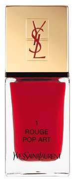 Yves Saint Laurent 'La Laque Couture' Nail Lacquer - 1 Rouge Pop Art