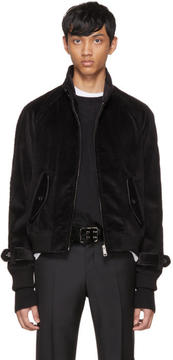 Prada Black Corduroy Jacket