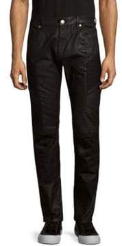 Pierre Balmain Slim Moto Jeans
