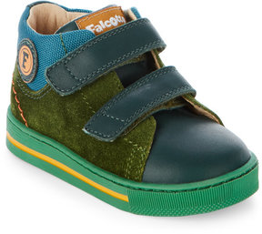 Naturino Toddler Boys) Green Falcotto Holt Mid Top Sneakers