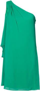 Badgley Mischka sleeveless dress with back detail