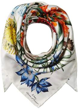 Echo Blooms Of Oceania Silk Square Scarves