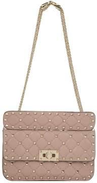 Valentino Small Leather Rockstud Spike Shoulder Bag