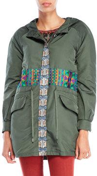 Custo Barcelona Hooded Military Jacket