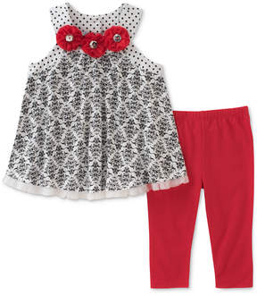 Kids Headquarters 2-Pc. Printed Tunic & Leggings Set, Toddler Girls
