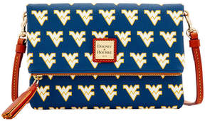 Dooney & Bourke West Virginia Mountaineers Foldover Crossbody Purse