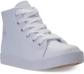 Polo Ralph Lauren Little Boys' Slater Mid Casual Sneakers from Finish Line