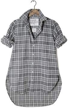 Frank And Eileen Womens Grayson Italian Flannel Plaid Shirt