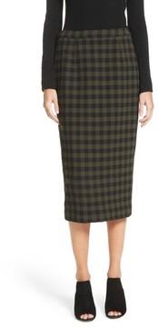 A.L.C. Women's Thea Plaid Wool Pencil Skirt