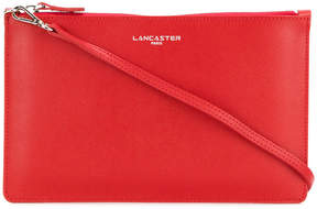 Lancaster zipped clutch
