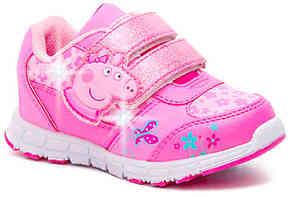 Peppa Pig Girls Jogger Toddler Light-Up Sneaker