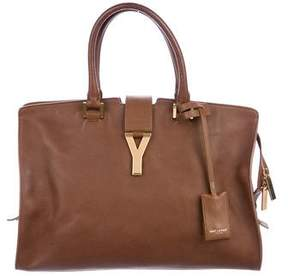 Saint Laurent Ligne Classic Y Leather Tote