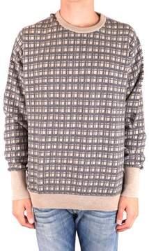Ballantyne Men's Mcbi032069o Beige Cashmere Sweater.