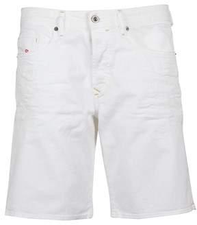 Diesel Men's 00spke0689h100 White Cotton Shorts.