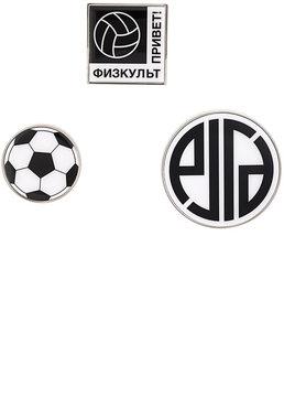 Gosha Rubchinskiy set of 3 badges