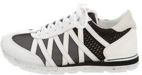 Dolce & Gabbana Boys' Leather Mesh-Accented Sneakers w/ Tags
