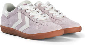 Hummel Lilac Victory Junior Trainers