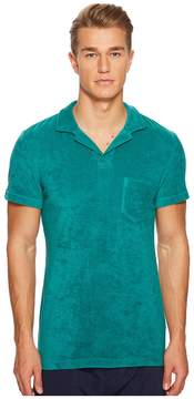 Orlebar Brown Terry Polo Men's Clothing