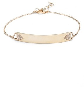 Ef Collection Women's Diamond Id Bracelet