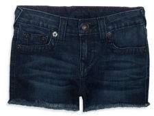 True Religion Little Girl's & Girl's Shibori Shorts
