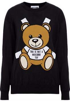 Moschino Intarsia Cotton Sweater