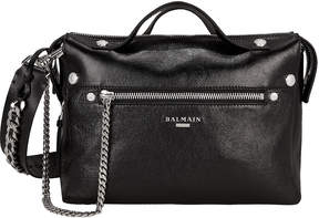 Balmain Bbiker Mini Messenger Bag