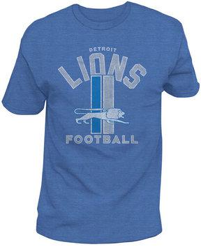 Authentic Nfl Apparel Men's Detroit Lions Midfield Retro T-Shirt
