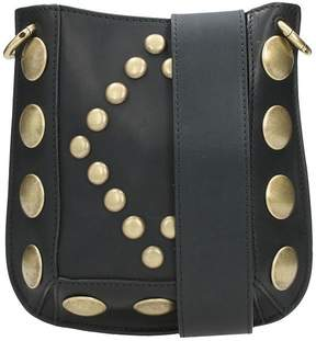 Isabel Marant Nasko Mini Studded Leather Shoulder Bag