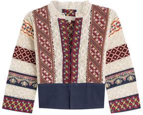 Vanessa Bruno Embroidered Cotton Jacket