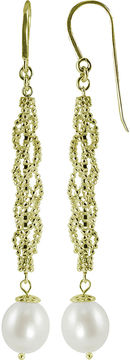 Brilliance+ FINE JEWELRY Cultured Freshwater Pearl & Brilliance Bead Drop Earrings