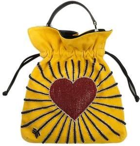 Les Petits Joueurs Big Trilly Heart Cupid Shoulder Bag