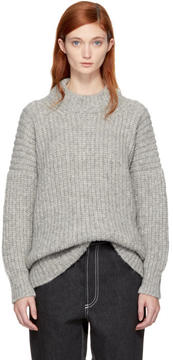 LAUREN MANOOGIAN Grey Fisherwoman Sweater