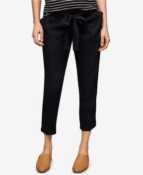 A Pea in the Pod Maternity Belted Ankle Pants