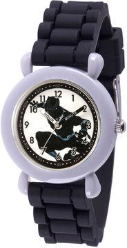 Marvel Avengers Boys Black Strap Watch-Wma000235