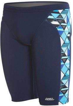 Funky Trunks Men's Blue Steel Training Jammer Swimsuit 8148314