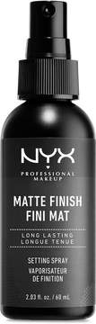 NYX Make-Up Setting Spray, Matte Finish/Long Lasting