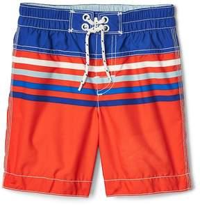 Gap Stripe colorblock board shorts