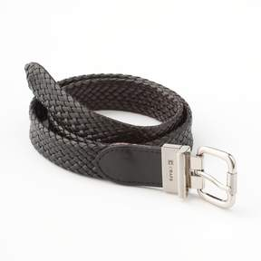 Chaps Reversible Braided Faux-Leather Belt