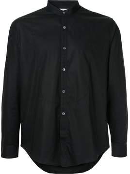 Cerruti band collar shirt
