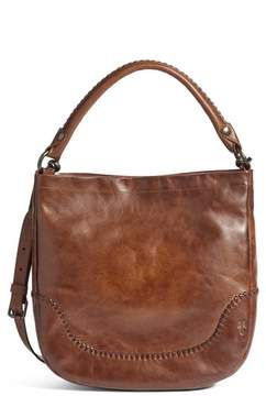 Frye Melissa Whipstitch Leather Hobo - Brown