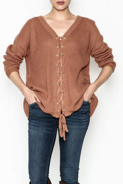 Entro Lace Me Up Sweater