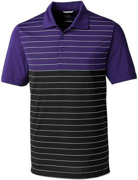 Cutter & Buck Purple Endeavor Stripe Polo - Men