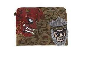 Forest of Chintz Nebuta Warrior Embellished Bag