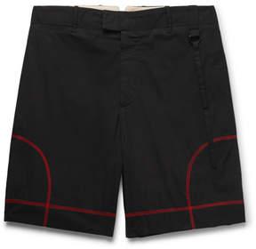 Craig Green Cutout Cotton-Blend Poplin Shorts