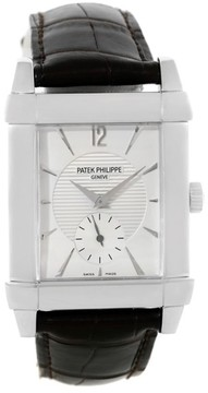 Patek Philippe Gondolo 5111G 18K White Gold 33mm Mens Watch