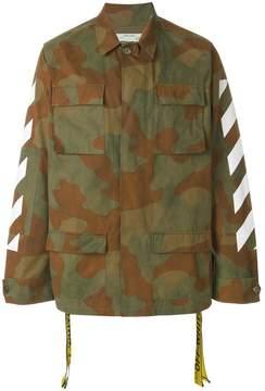 Off-White camouflage cargo jacket